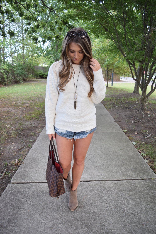 fall transition outfit // pinebarrenbeauty.com