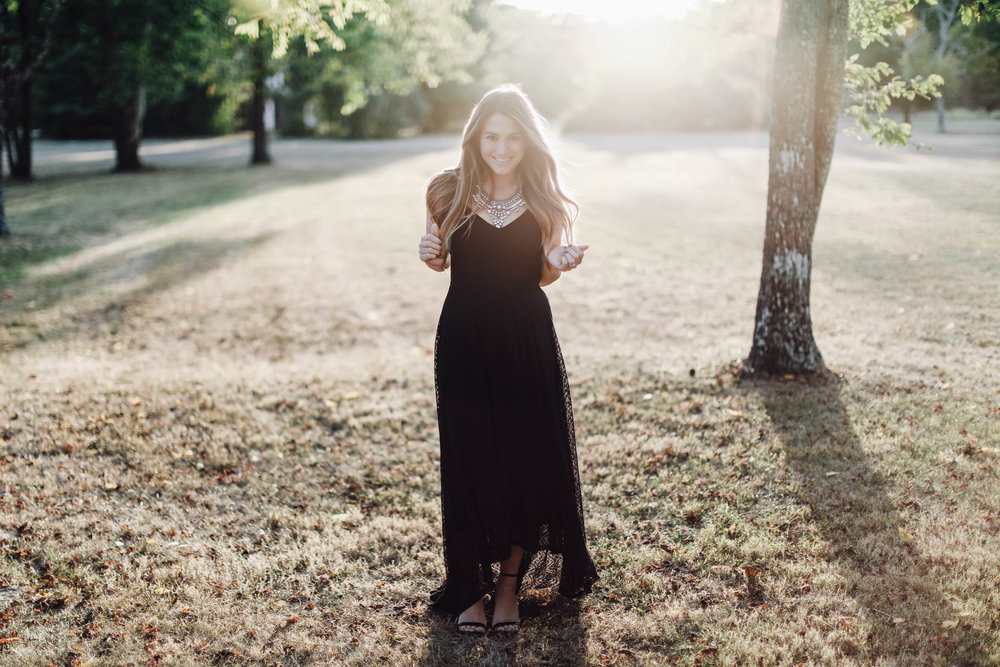 black maxi dress // pinebarrenbeauty.com