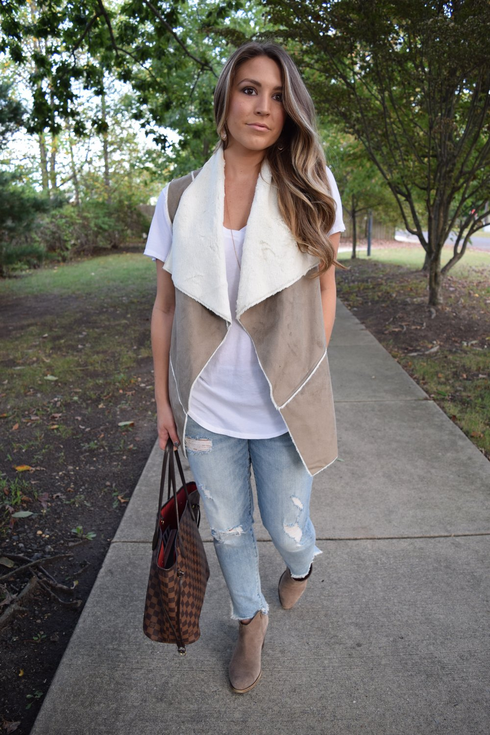fall transition outfit // pinebarrenbeauty.com