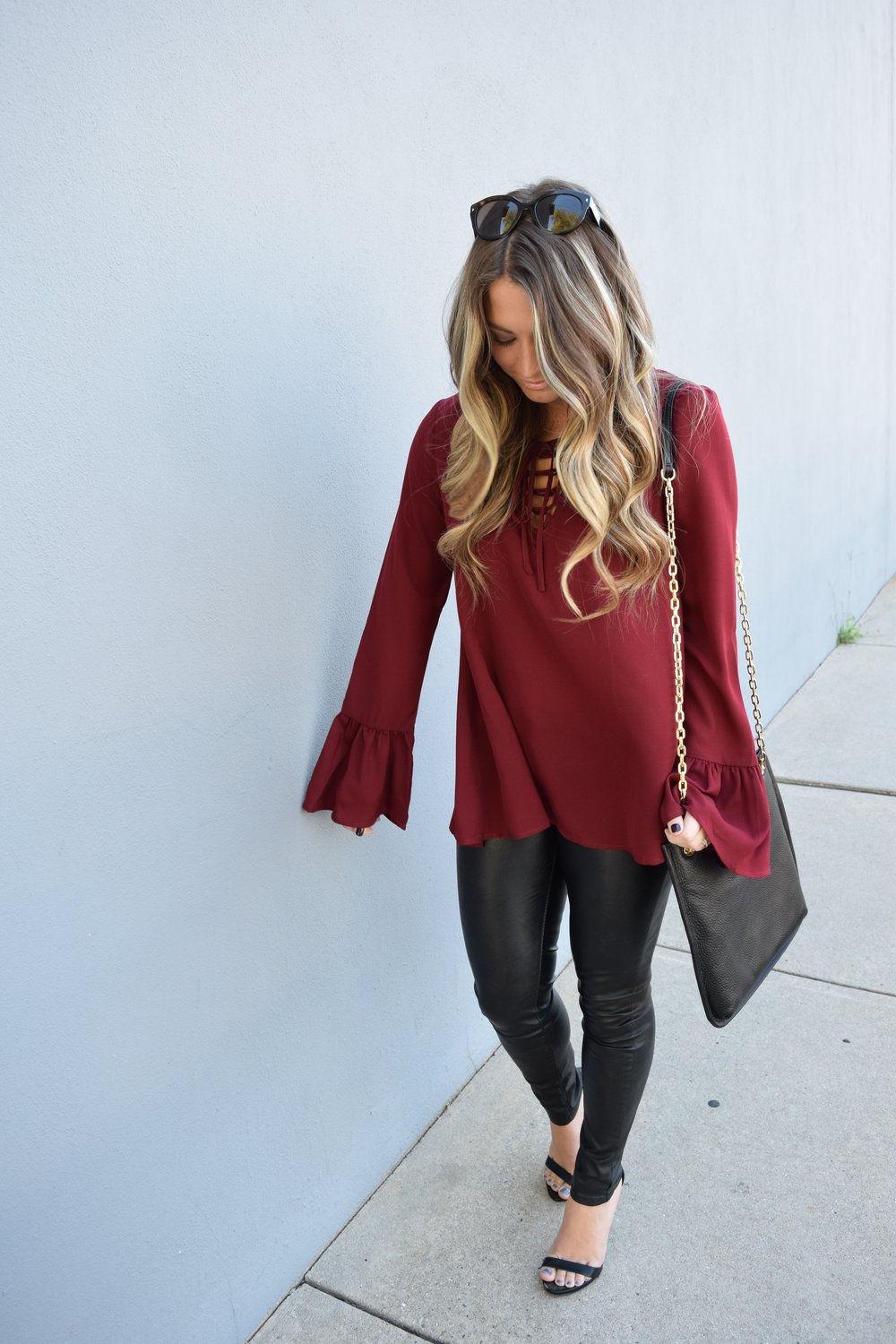 fall date night outfit // pinebarrenbeauty.com