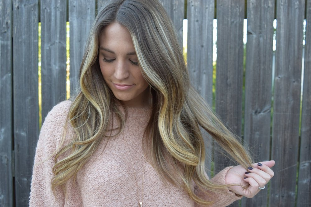 blush poncho // fall style // pinebarrenbeauty.com
