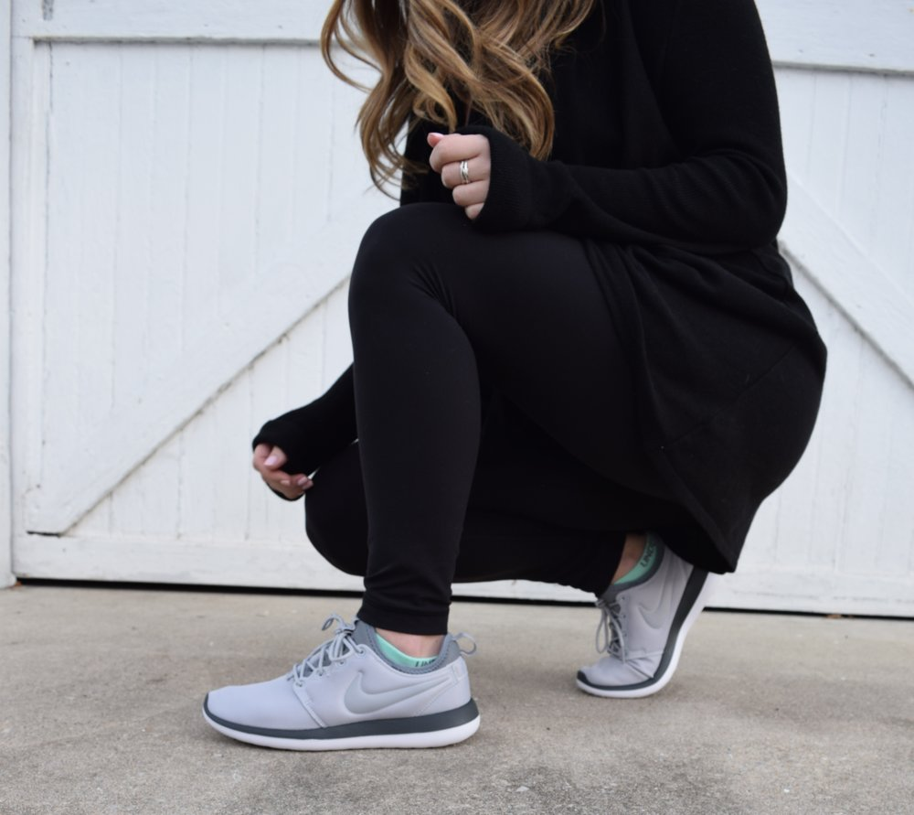 winter fashion, athleisure, nike