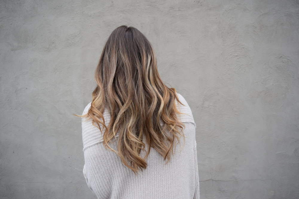 balayage on long hair