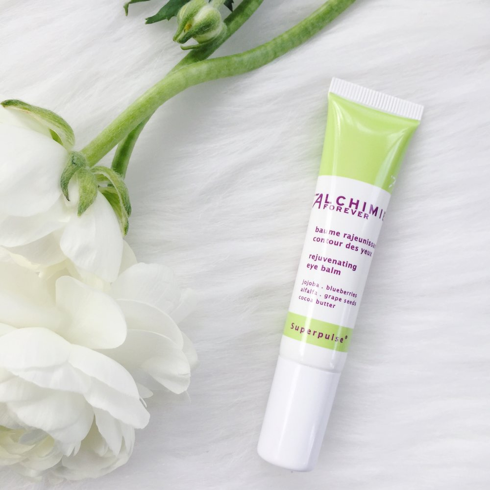 alchimie forever skincare, rejuvenating eye balm, anti-aging eye cream