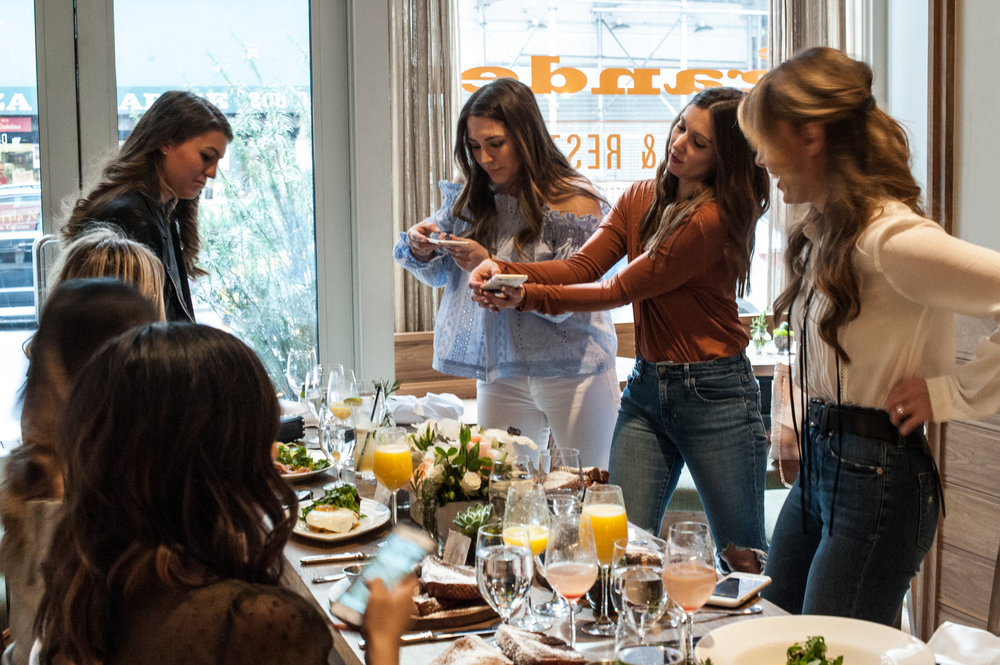 blogger brunch at the gander nyc / pinebarrenbeauty.com