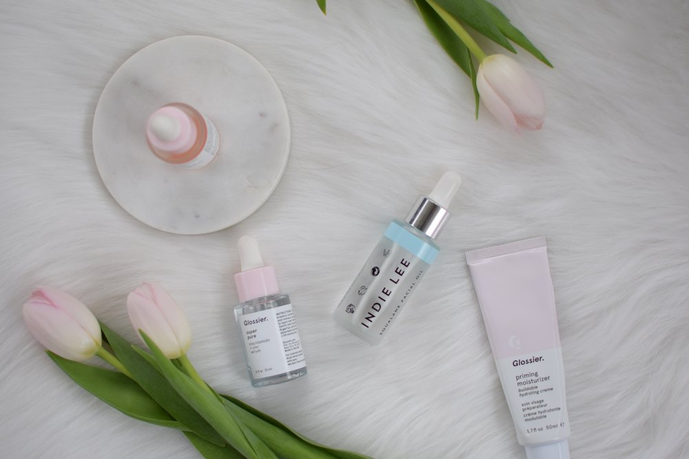spring skin care routine / serums & face oils