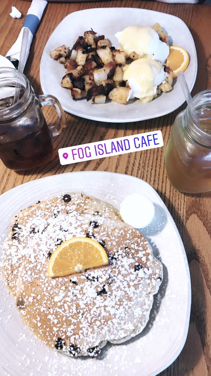 fog island cafe / nantucket travel diary