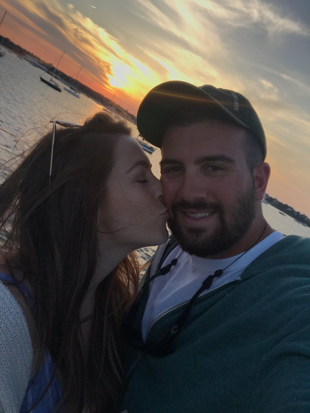 couple goals / sunset / nantucket travel diary