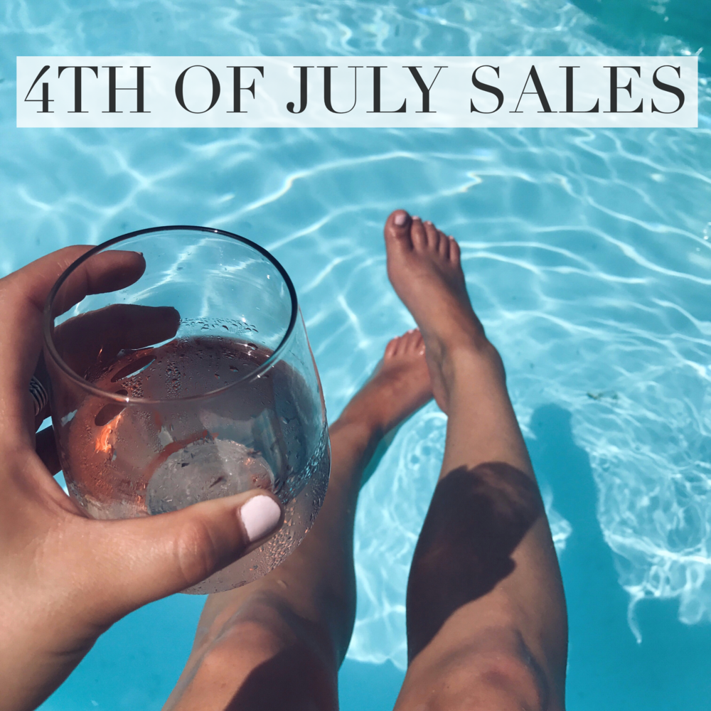 long weekend sales / 4th of July sales