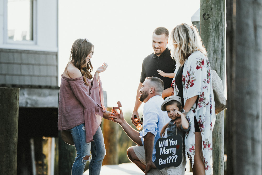 I said yes / engagement photos / proposal