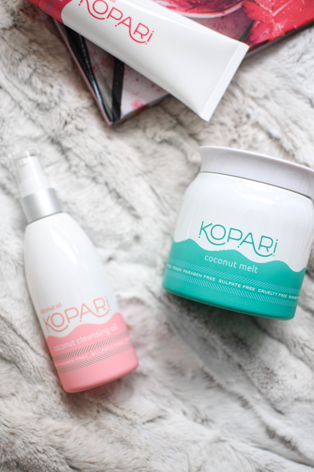 kopari / kopari beauty / natural skincare / organic skincare / coconut oil based skincare products / kopari skincare review