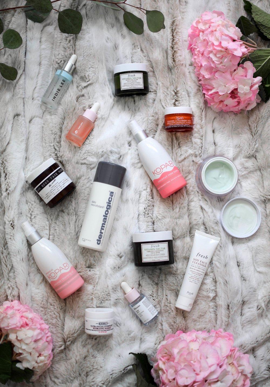 skin care essentials / fall skin care routine / skin care products / organic skin care / natural skin care / skin care routine