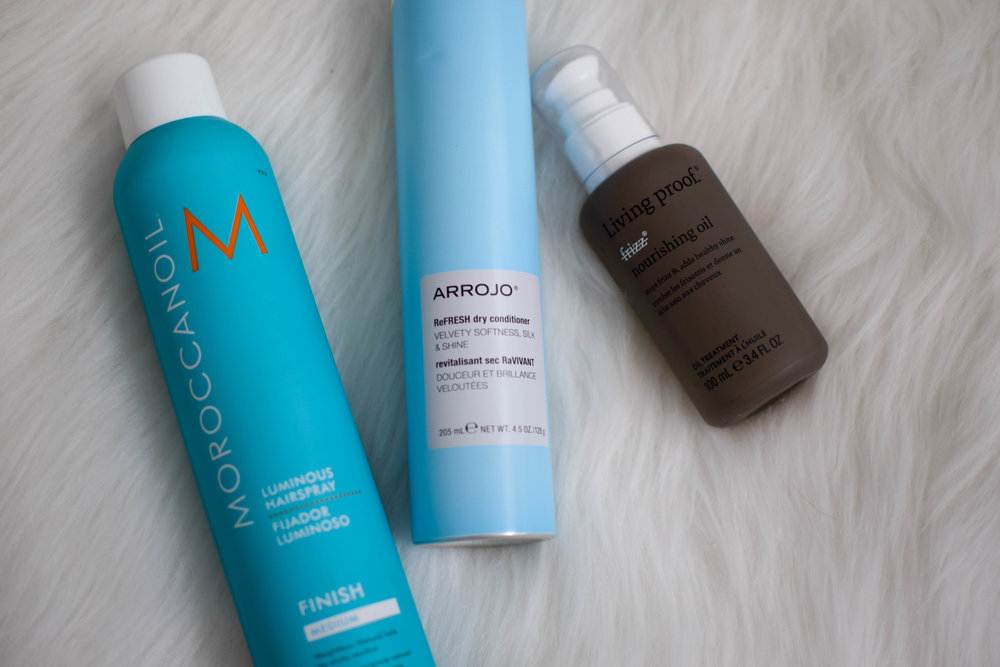 holy grail beauty products / must have beauty products / must have hair care products / moroccanoil / arrojo / living proof