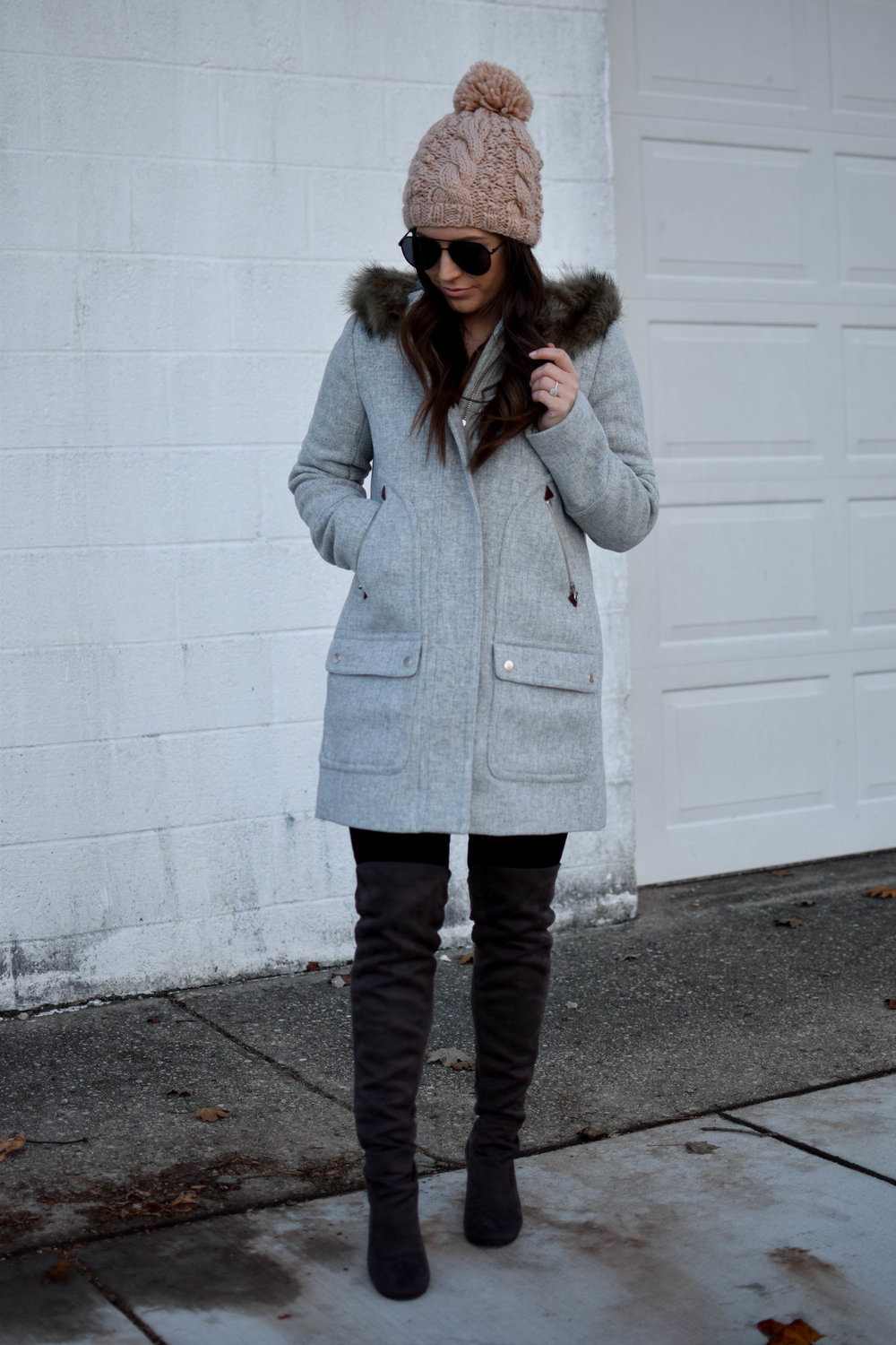 The J. Crew Coat You Need This Winter | Pine Barren Beauty | winter fashion, winter coat, winter outfit idea