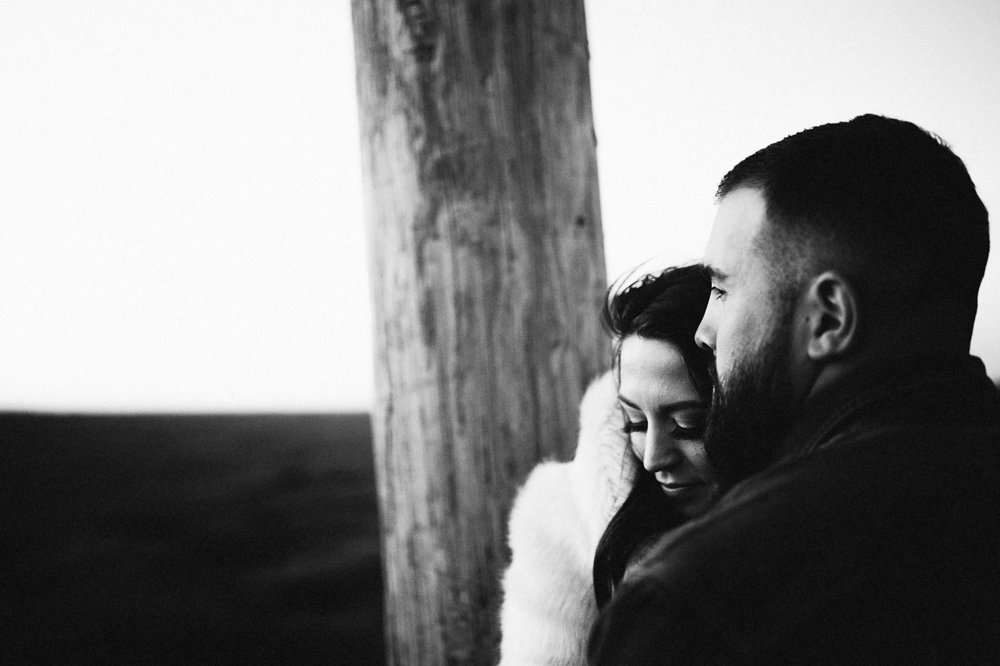 Our Engagement Photos | Pine Barren Beauty | engagement photo ideas, engagement photo inspiration, what to wear for fall engagement photos, wedding inspiration, couple goals, lineman engagement photos