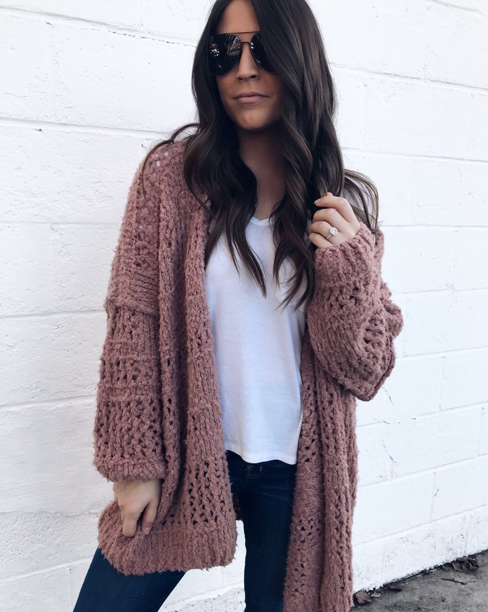 Weekend Sales & Instagram Round Up | Pine Barren Beauty | winter fashion, winter outfit idea, cozy outfit idea, free people cardigan