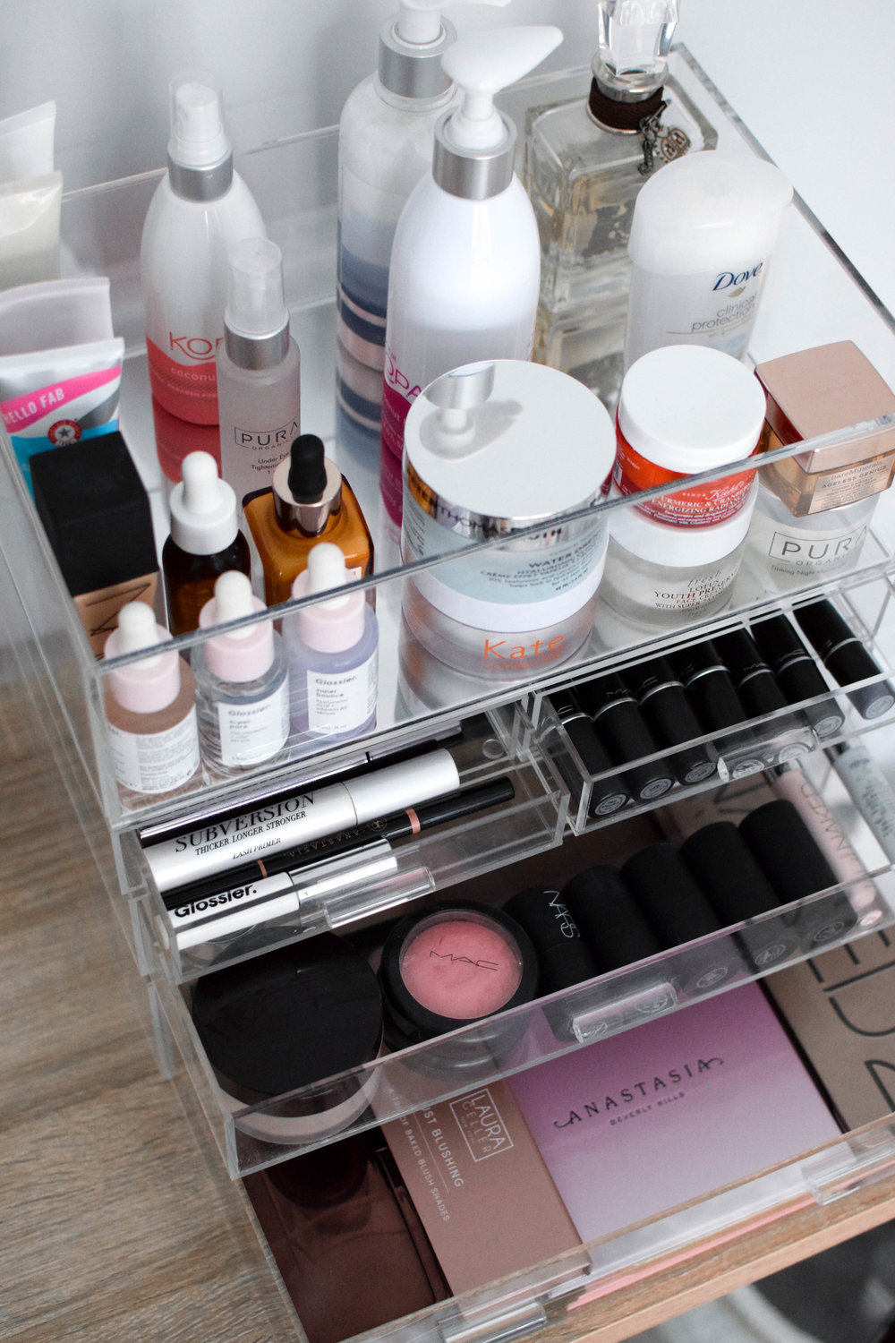 How I Store Organize My Makeup Products Pine Barren Beauty