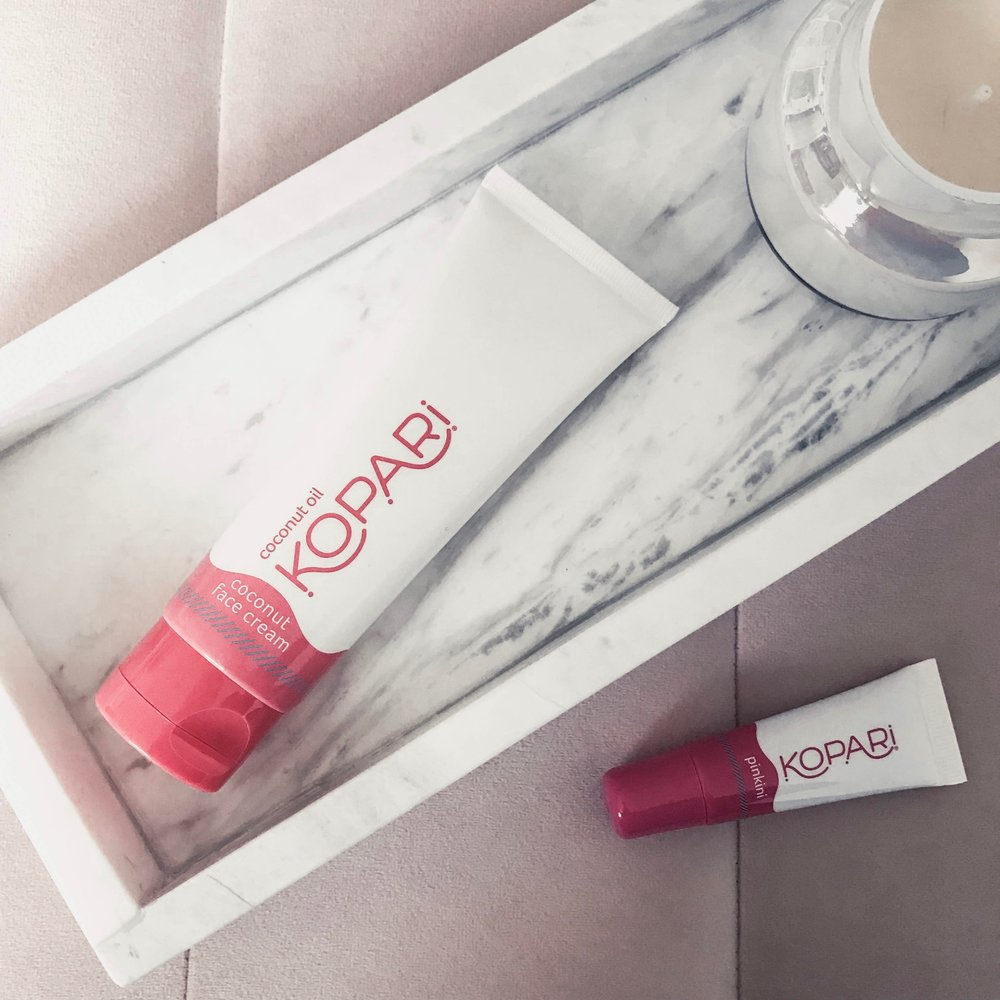 Instagram Round Up | Pine Barren Beauty | kopari beauty, organic beauty, organic skincare, beauty product flat lay