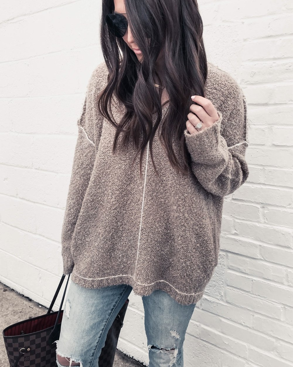 Instagram Round Up | Pine Barren Beauty | light weight sweater, spring transition outfit idea, cozy sweater, cozy vibes, outfit of the day