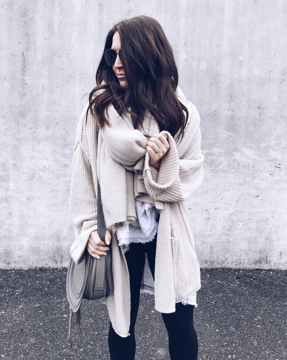Instagram Round Up | Pine Barren Beauty | winter outfit idea, winter fashion, cozy outfit idea, cozy vibes, free people outfit, cozy cardigan, oversized scarf for winter