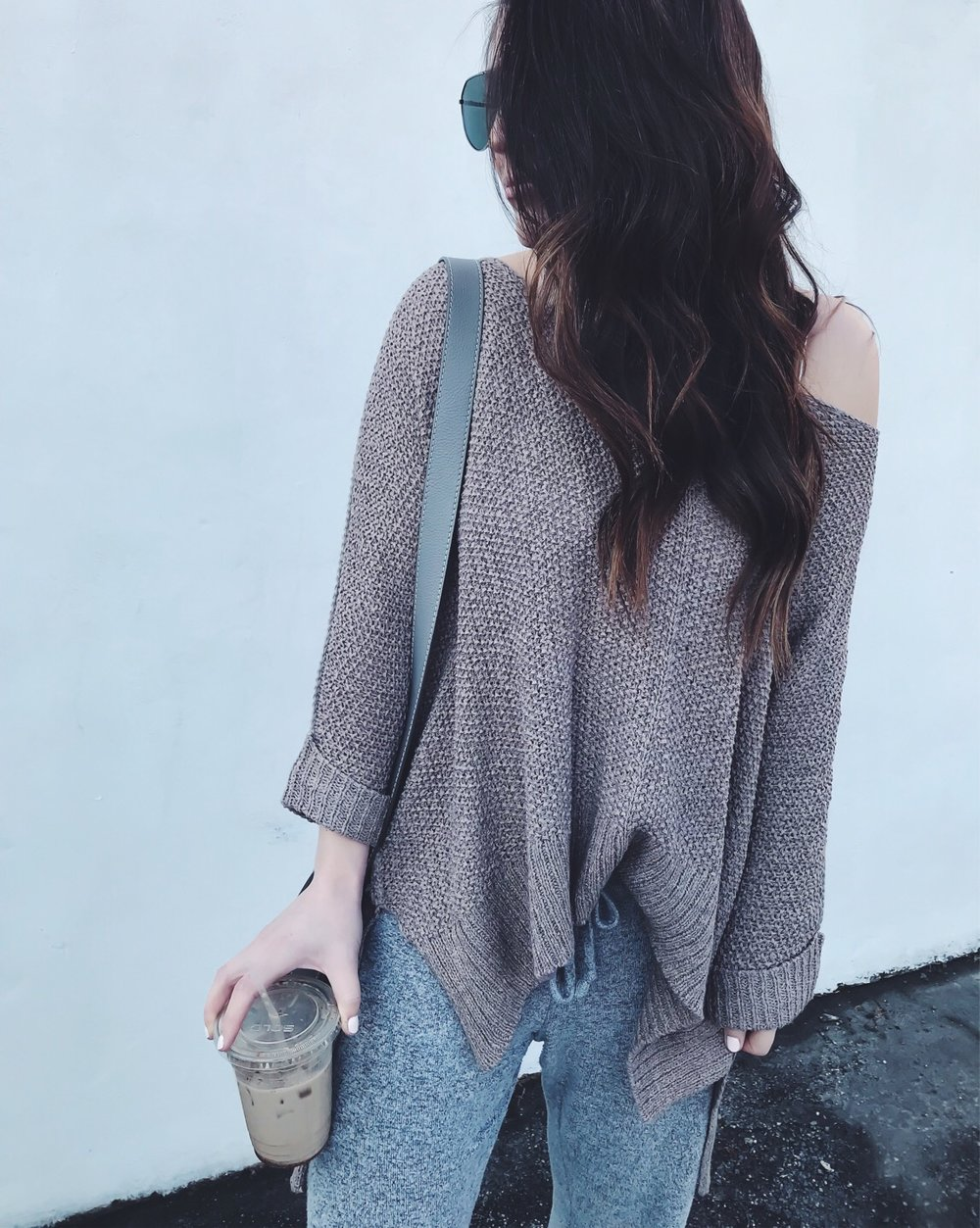 Instagram Round Up + Current Sales | Pine Barren Beauty | outfit of the day, outfit details, spring outfit, slouchy sweater, off the shoulder sweater
