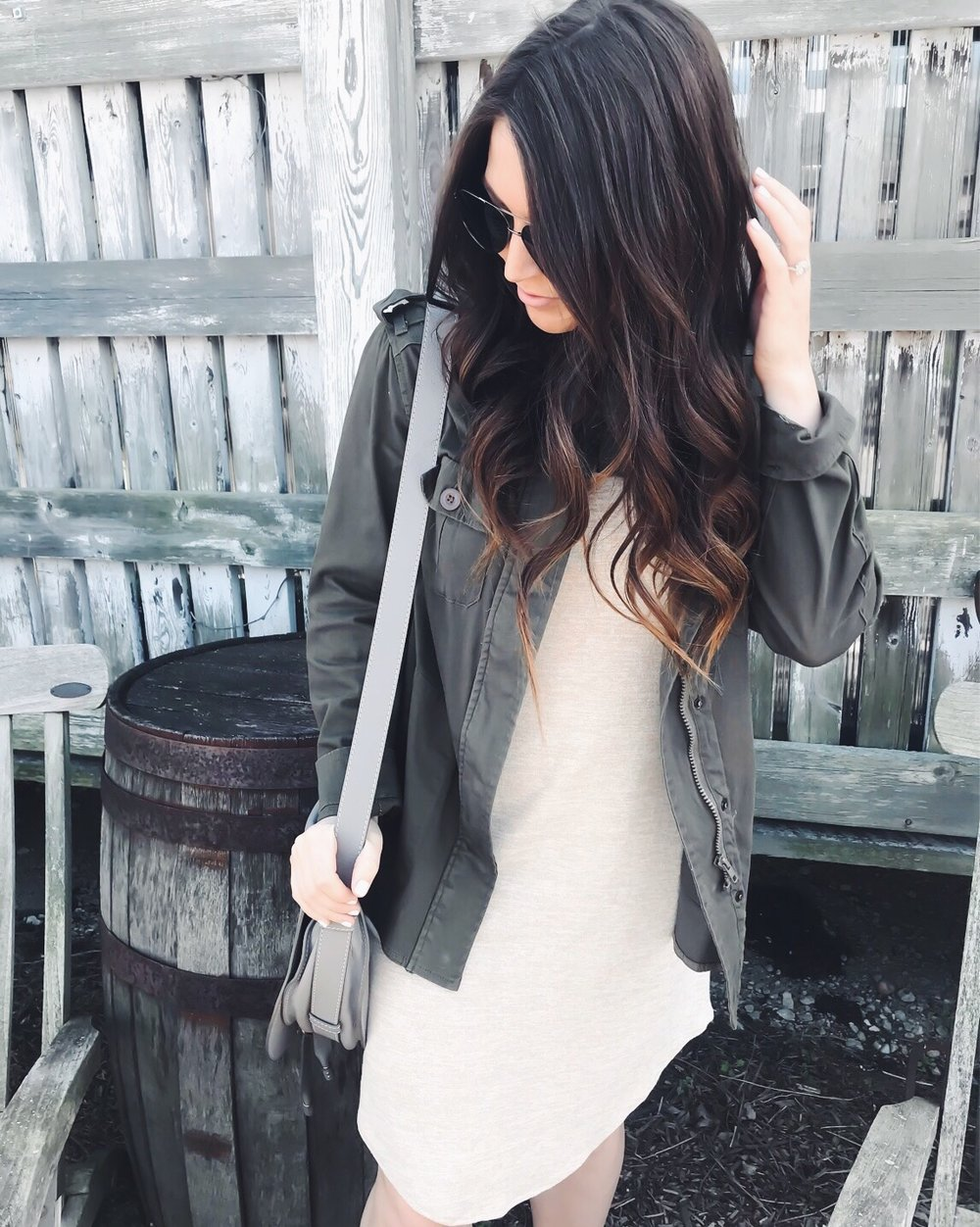Instagram Round Up | Pine Barren Beauty | spring outfit, utility jacket, summer dress