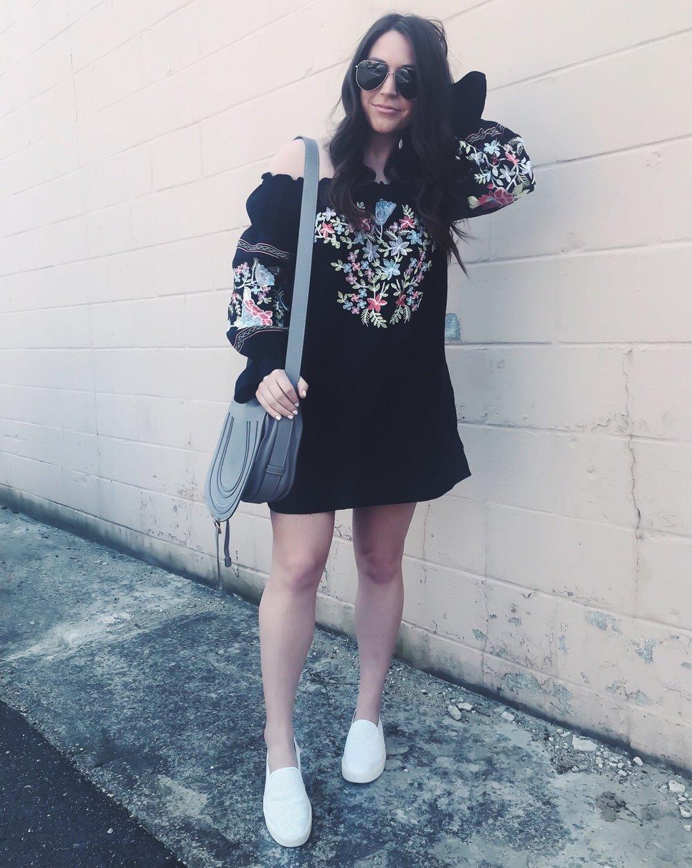 Instagram Round Up | Pine Barren Beauty | free people dress, boho dress, Vince slip ons, summer outfit idea