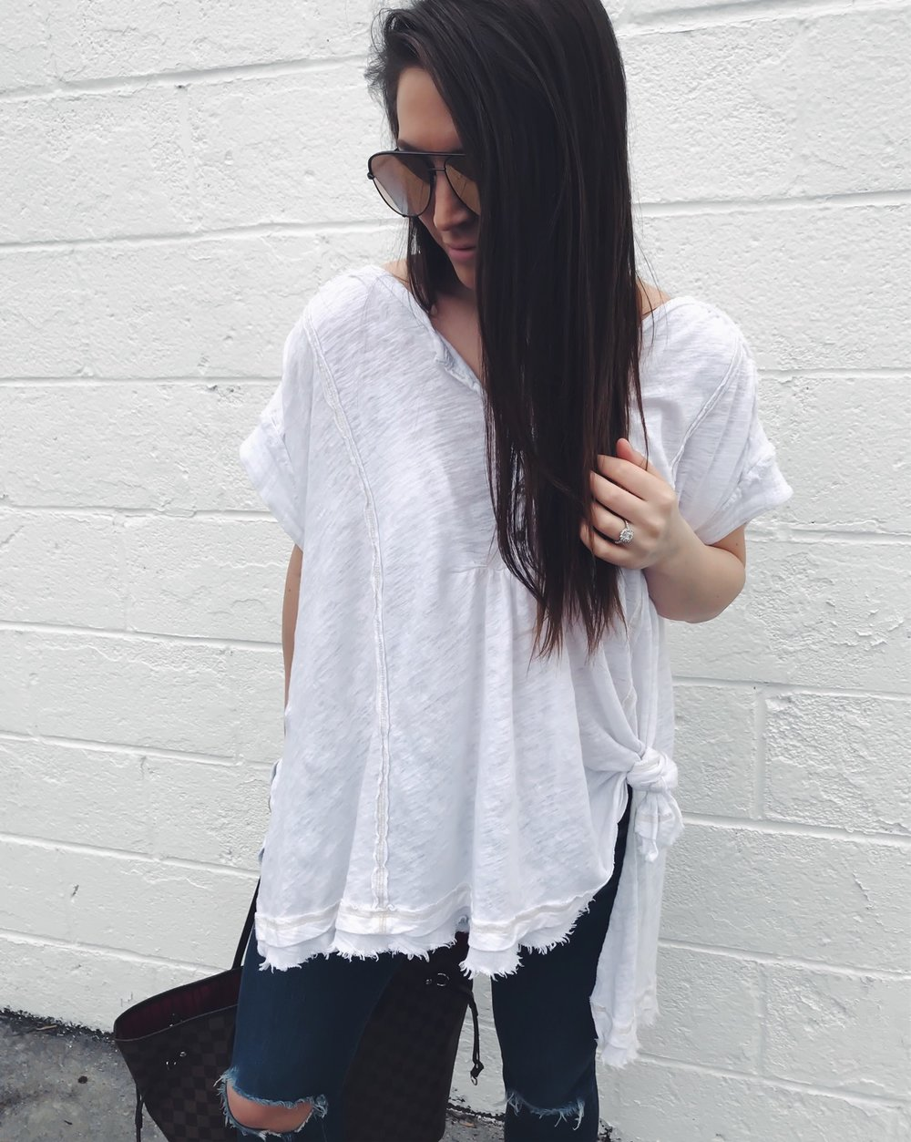 Instagram Round Up | Pine Barren Beauty | free people tee, basic white tee, summer outfit idea