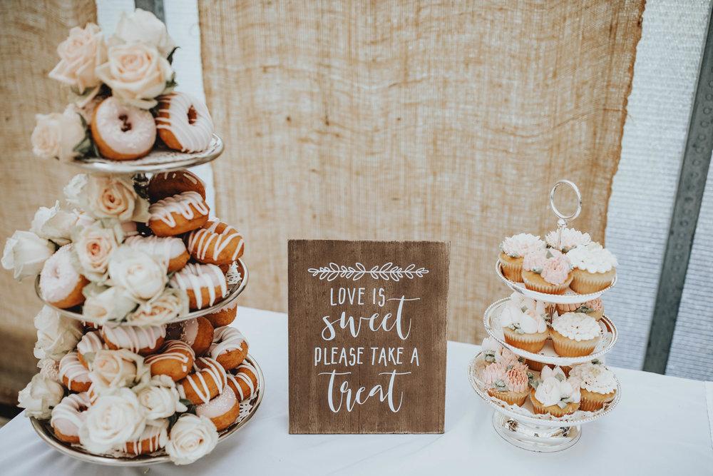 Bridal Shower Recap | Pine Barren Beauty | boho bridal shower, whimsical bridal shower,  boho bridal shower details, pink glazed donuts, bridal shower dessert table ideas