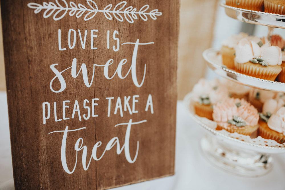 Bridal Shower Recap | Pine Barren Beauty | boho bridal shower, whimsical bridal shower,  boho bridal shower details, pink glazed donuts, bridal shower dessert table ideas, love is sweet please take a treat sign