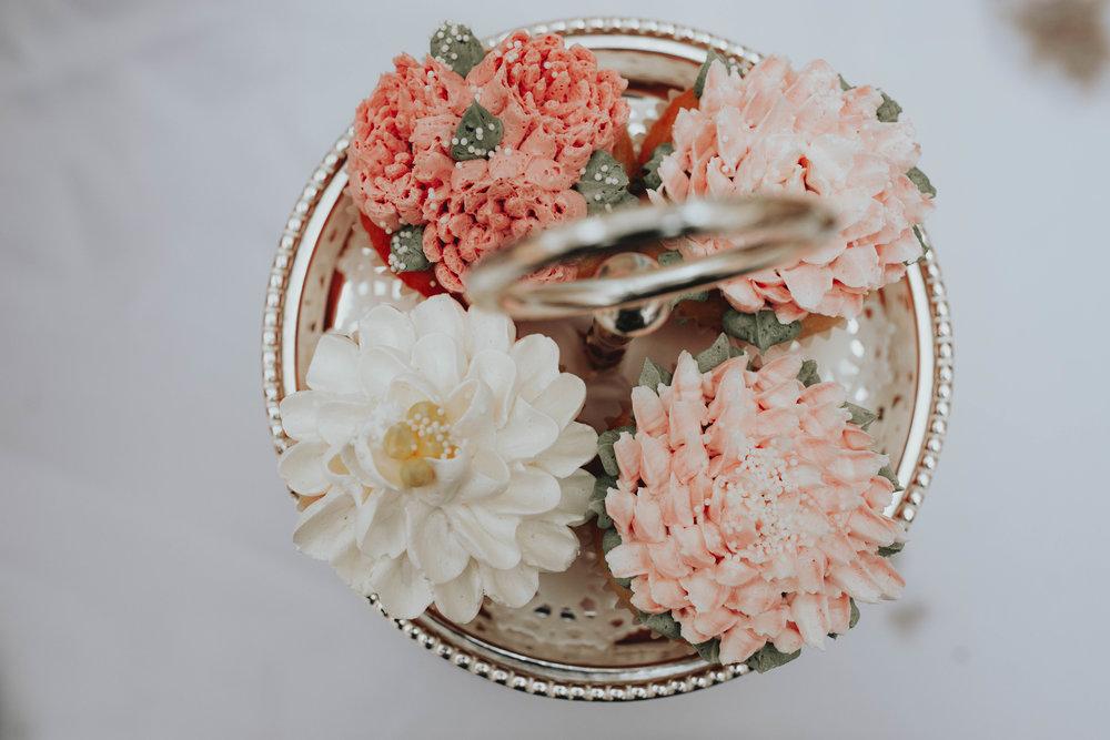 Bridal Shower Recap | Pine Barren Beauty | boho bridal shower, whimsical bridal shower,  boho bridal shower details, bridal shower dessert bar, bridal shower cupcakes