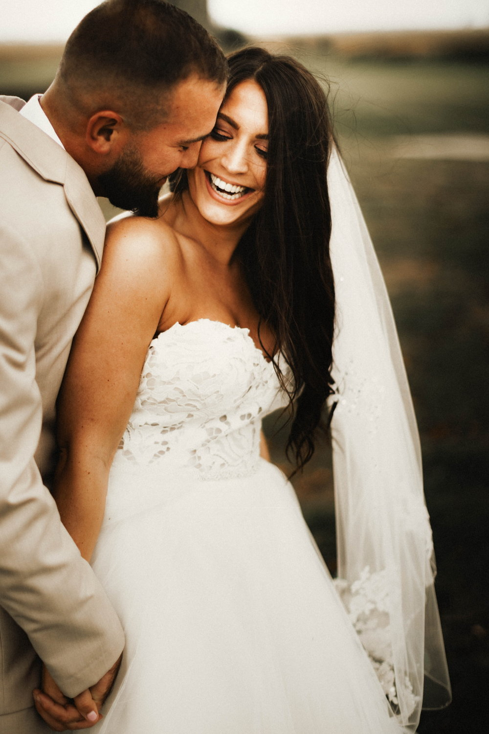 All of our Wedding Vendors: Reviewed | Pine Barren Beauty | wedding photos, wedding photography, wedding photography ideas, wedding portraits, bride and groom portraits, blush by Hayley Paige wedding dress