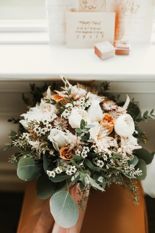 Flowers:  Pocket Full of Posies  / Invitations:  Milkmaid Paperie