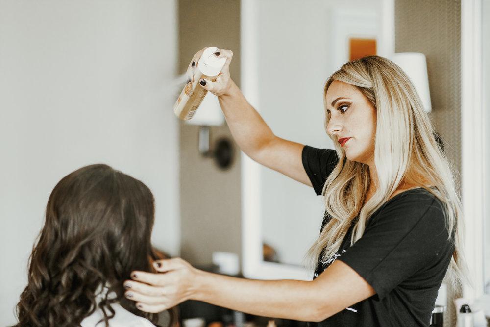 Wedding Hair:  Taffeta Hair & Makeup Design