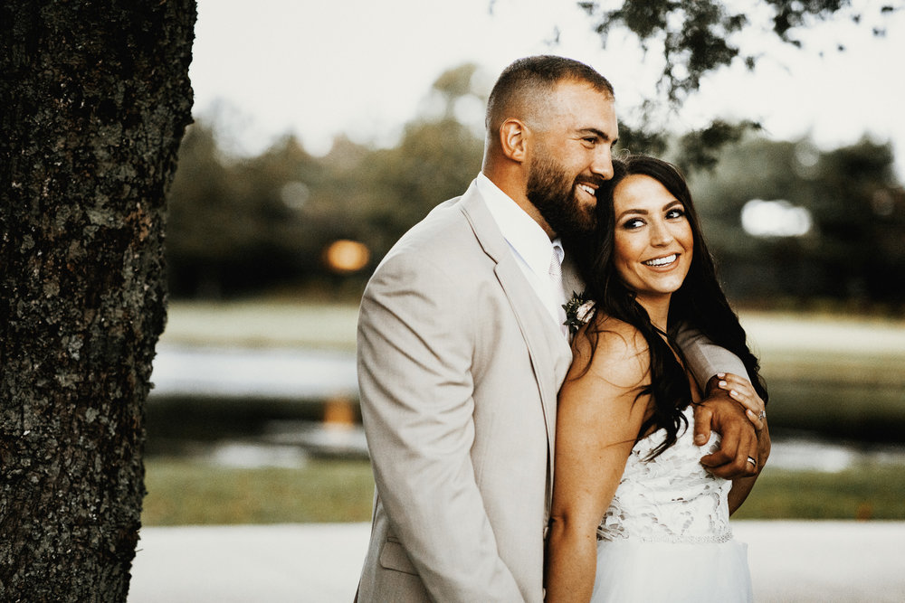 Our Wedding Photos: Part II | Pine Barren Beauty | wedding photo ideas, wedding photo inspiration, bride and groom portraits, Hayley Paige wedding dress