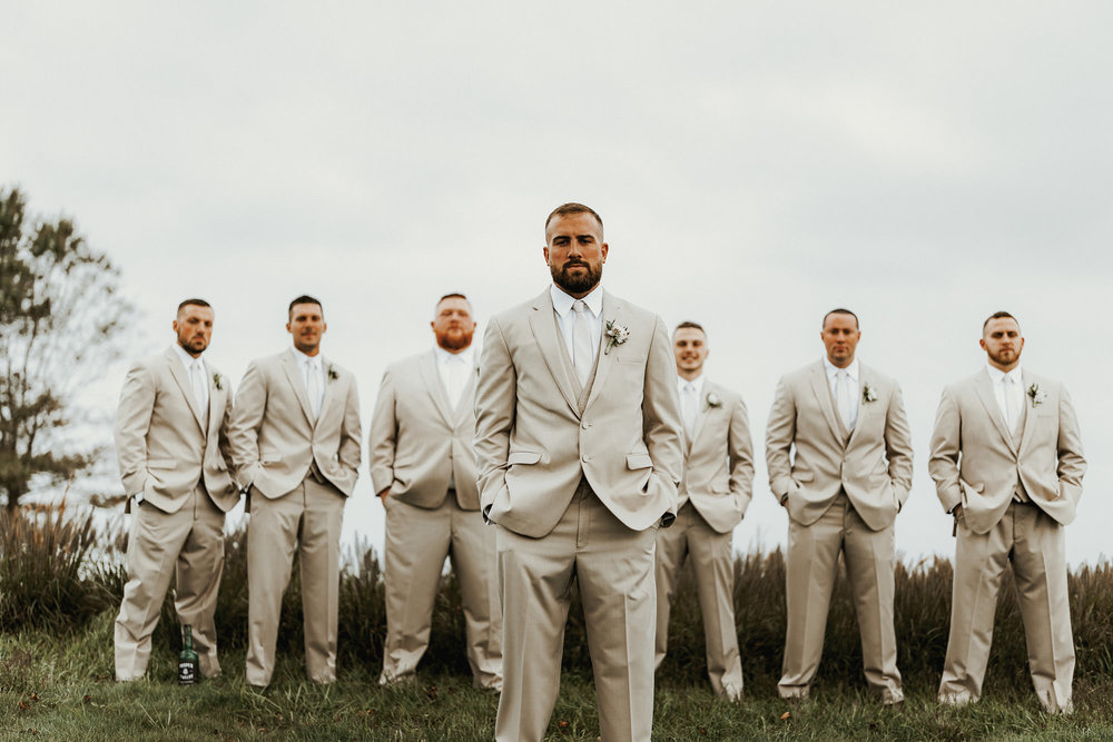 Our Wedding Photos | Pine Barren Beauty | wedding photo inspiration, bridal party colors, bridal party photos