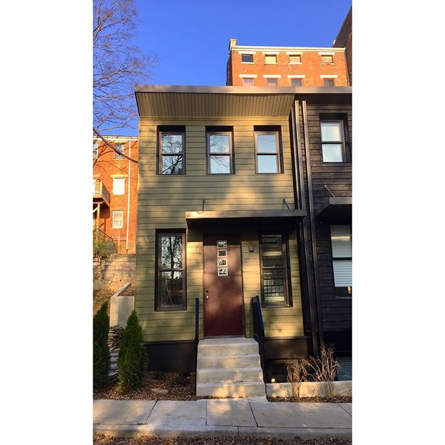 Thankful 142 is complete! Let your friends and family know there's a beautiful place to live on Peete Street.  #startsmallonpeete #startsmalllivelarge #qualityoverquantity #youcanbekevinsneighbor #beautifulhomes #sustainabledesign #leedplatinum #cincinnatirealestate #listingsoon