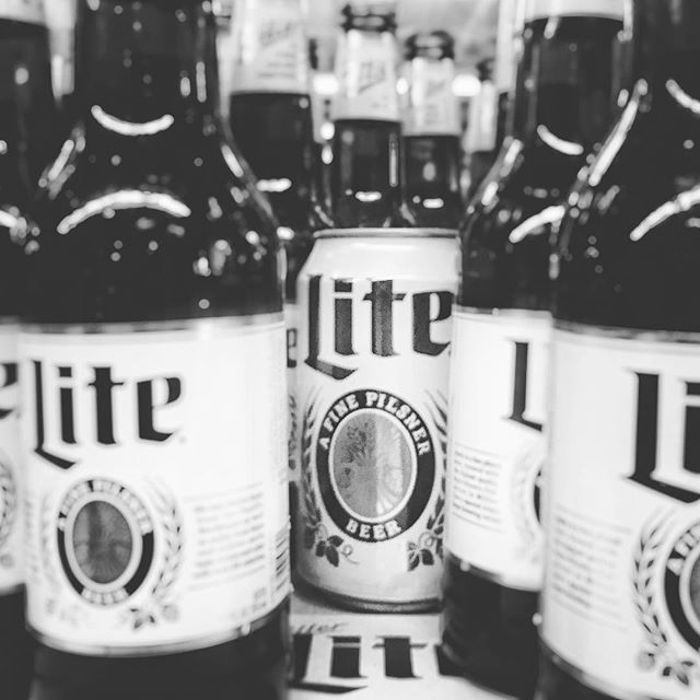 Cheers to the odd ball! #millertime @millerlite