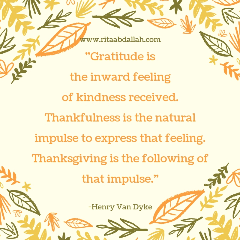 """""""Feeling gratitude and not expressing it is like wrapping a present and not giving it."""" -Henry Van Dyke, Author"""