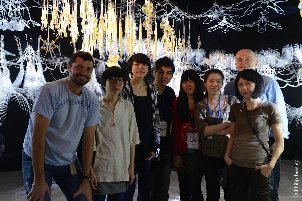 Protocell Cloud  , Digital Art Festival, Taipei