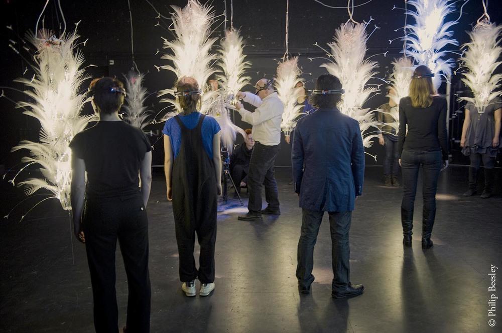 Protocell Field; Performance,  Dutch Electronics Art Festival, Rotterdam