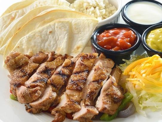 炭烤雞肉法士達   Chicken Fajita $ 520