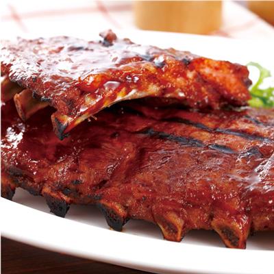 碳烤豬肋排餐  (  全份  )     Grilled Ribs (full)  $ 1050