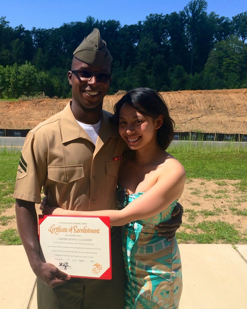 Kendall's reenlistment