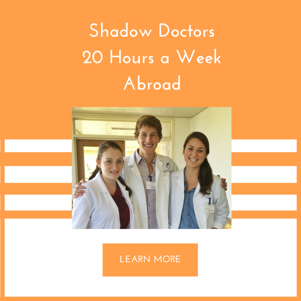 the ultimate guide to shadowing a doctor next semester atlantis shadowing has some key benefits that are essential for any pre med 1 it helps you develop a realistic sense of medicine 2 allows you to determine if