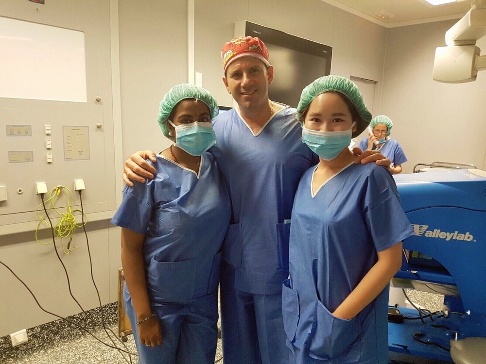 Shadow doctors for 20+ hours a week -
