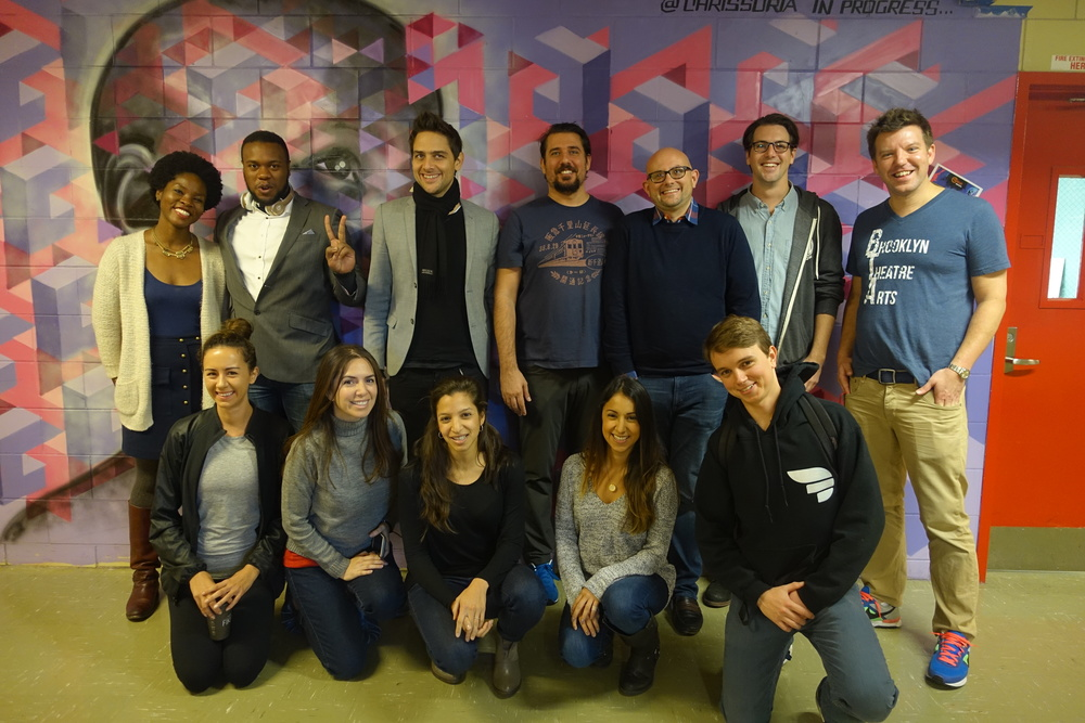 Breakout crew with Principal David Ward