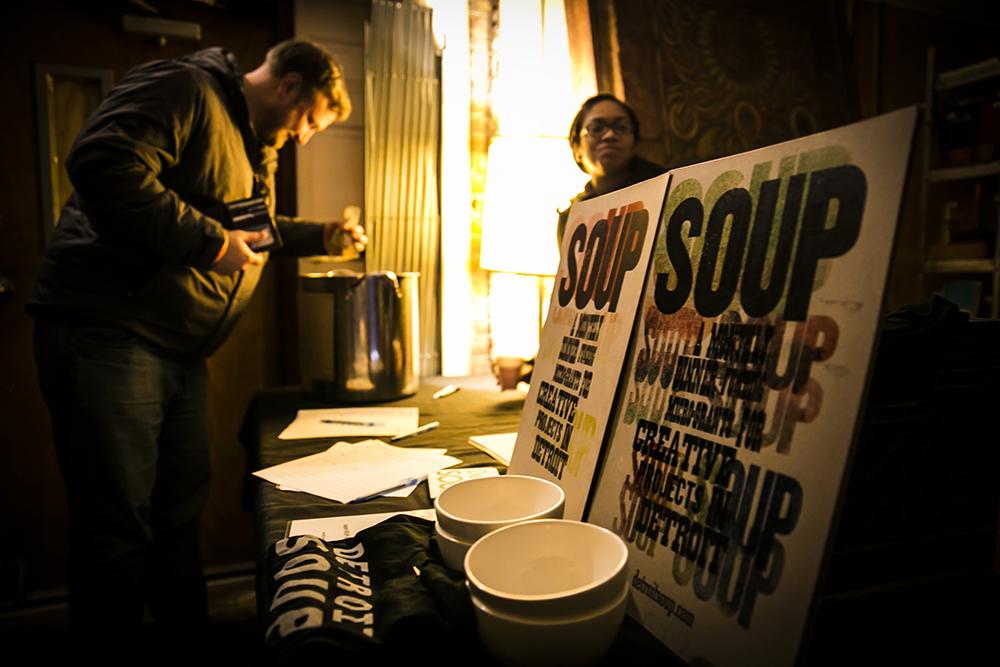 Kaherl's intitative Detroit SOUP