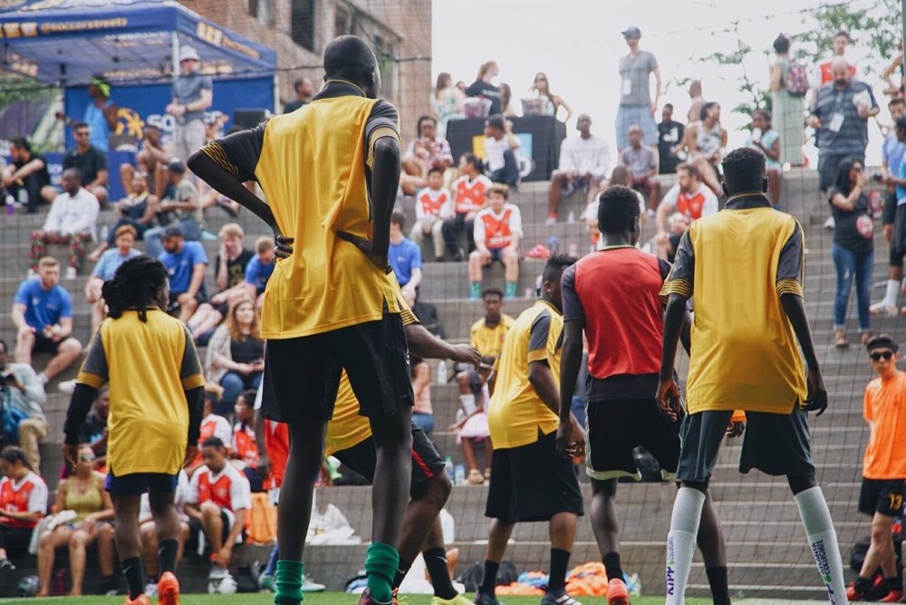 Soccer in the Streets - Sanjay Patel