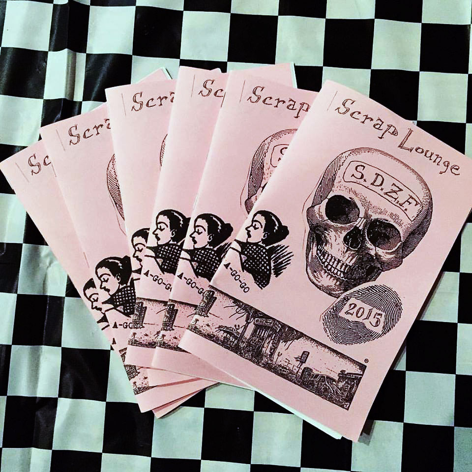 Scrap Lounge | A ZINE Workshop Hosted By Grrl Zine A Go Go